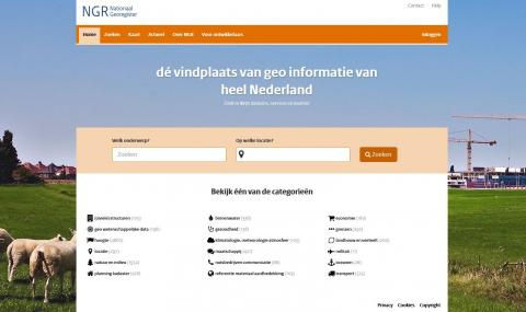 screenshot Nationaal georegister